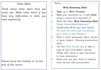 Desktop Publishing Skills in Microsoft Word