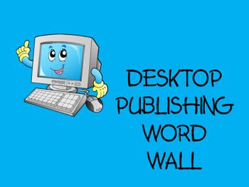 Desktop Publishing Word Wall