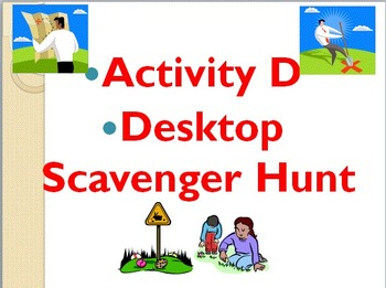 Desktop Scavenger Hunt