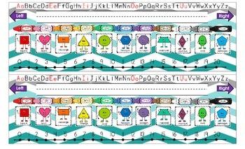 Desktop nameplates