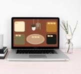 Desktop organizer/wallpaper