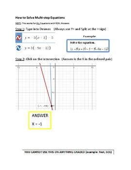 Desmos Diverse Algebra Pack
