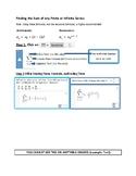 Desmos Finite & Infinite Sum Series Calculator Tricks