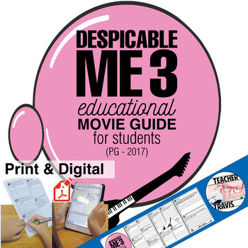 Despicable Me 3 (PG - 2017) Movie Viewing Guide