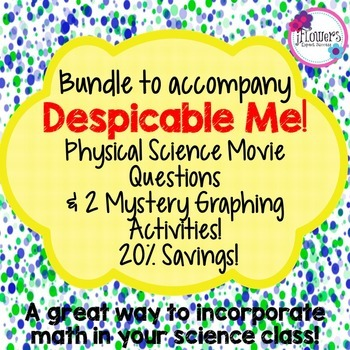 Bundle to accompany Despicable Me! Great for the End of th