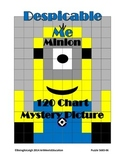 Despicable Me Minion - 120 Chart Mystery Picture!