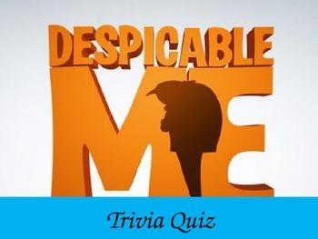 Despicable Me Movie Quiz