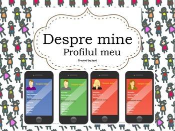 Despre mine - Profilul meu