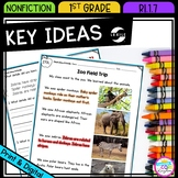 Describe Key Ideas with Illustrations & Details - RI.1.7 -