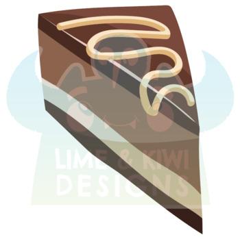 Dessert Clipart, Instant Download  Vector Art, Commercial Use Clip Art