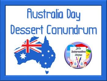 Dessert Conundrum - An Australia Day Maths Activity