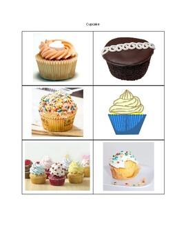 Dessert Picture Cards