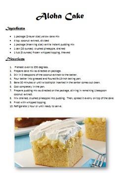 Dessert Recipes Set 3