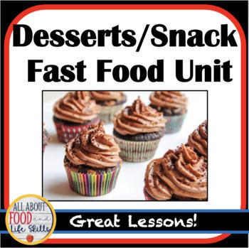 Dessert/Snack/Fast Food Handouts