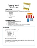 Dessert Stand New Business Pitch Project