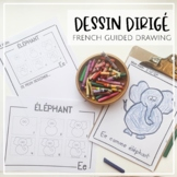 Dessin Dirigé Alphabet (FRENCH GUIDED DRAWING/DIRECTED DRAWING)