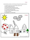 Dessin à colorier et dessiner