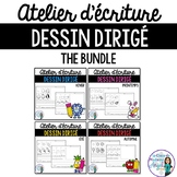 Dessin dirigé:  French Directed Drawing Four Seasons BUNDLE