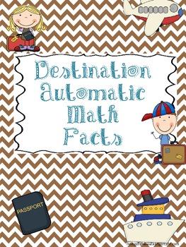 Destination Automatic Math Facts