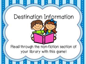 Non-Fiction Game: Destination Information