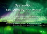 Destination: Sol and the Inner Planets