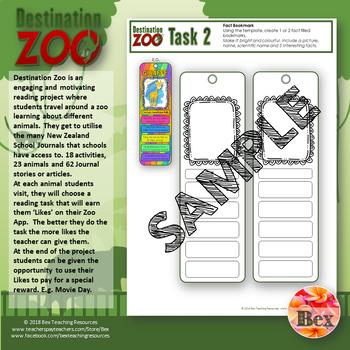 Destination Zoo - A NZ School Journal Project