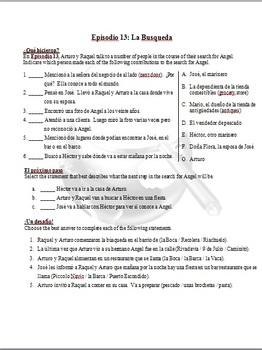 Destinos Bundle - Activities for Episodes 1-24