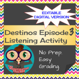 Destinos Episode 3 -  Spanish Directions and Conjugation Practice
