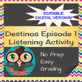 Destinos Episode 1  Spanish Question Words