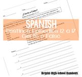 Destinos Spanish Course Episodes 12-17: Cierto o Falso