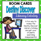 Destiny Discover Card Catalog BOOM Cards | Distance Learning