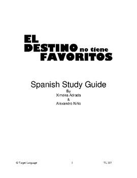 Destiny Has No Favorites-Spanish Study Guide