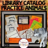 Library Catalog Practice   Animal Edition
