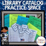 Library Catalog Practice   Space   Solar System Edition