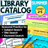 Destiny Library Catalog Practice: Summer Edition