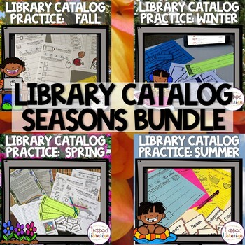 Destiny Library Catalog Practice: Seasons BUNDLE