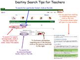 Destiny Search Guide