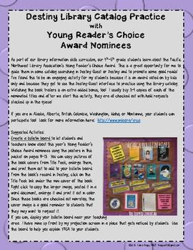 Destiny + Young Reader's Choice Award 2018