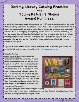 Destiny + Young Reader's Choice Award 2018