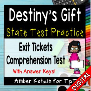 Destiny's Gift State Test Prep - 3rd Grade Journeys