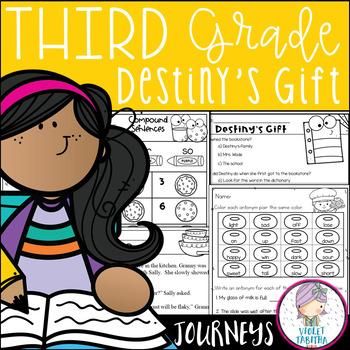 Destiny's Gift Journeys Third Grade Lesson 3 Unit 1