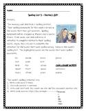 Destiny's Gift Spelling Activities Journeys 3rd Grade Lesson 3