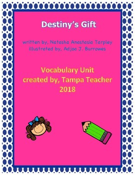 Destiny's Gift Vocabulary Resource