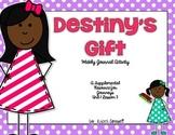 Destiny's Gift Journal Booklet  3rd Grade Journeys