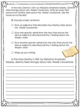 Destiny's Gift-Journeys Grade 3-Lesson 3