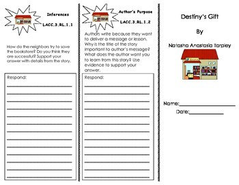 Destiny's Gift Journeys HMH/ 3rd Grade