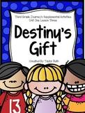 Destiny's Gift Journey's Supplemental Activities -- Third Grade Lesson 3