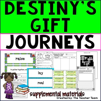 Destiny's Gift Journeys Third Grade Supplemental Materials