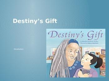 Destiny's Gift: Vocabulary Journey's Lesson 3