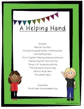 3rd Grade Journeys Destiny's Gift Volunteer Writing Project